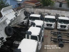 hyundai Hàn Quốc, tải trọng từ 2. 5 tấn đến 25 tấn