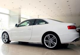 Audi A5 2. 0T 2 cửa thể thao xe nhập USA màu trắng tinh khôi. Giá Hotttttttt
