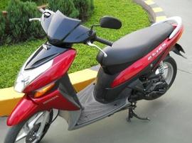 Bán xe Honda Click, 2011, màu đỏ đen ,bstp ,xe đẹp keng