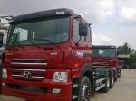 Huyndai 4 chân 19 tấn tải thùng, ben nhập nguyên chiếc mới 100%