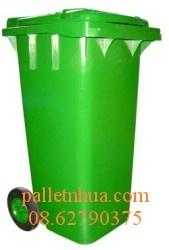 Thùng Rác Nhựa HDPE, thùng nhựa công nghiệp, thung rac 95L -120L - 240L - 660l