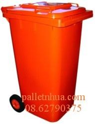 Thùng rác nhựa 2 bánh xe ,55L đến 660L( xe gom rác)