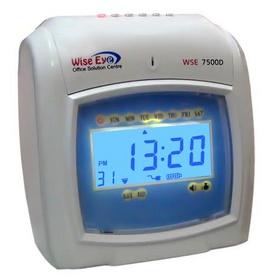 máy chấm công thẻ giấy wise eye 7500A/ 7500D. giá rẽ nhất Đồng Nai