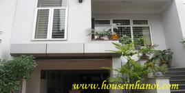 Villa in Doc Ngu str, Ba Dinh dist for rent