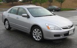 Bán xe Honda Accord cuối 2007, nhập khẩu, xe ghi vàng, số tự động.