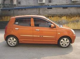 Bán xe Kia Morning LSX đời 2007, số tự động, đăng ký 2009, biển Hà Nội, màu đồng