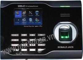 máy chấm công vân tay ronald jack U160. công nghệ tốt+rẻ