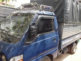 Cần bán tải hyundai 1T SX. 2003 nhập khẩu 2008 màu xanh zin nguyên thủy máy zin