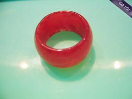Nhẫn Cẩm Thạch Đỏ