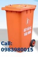 Tp. Hồ Chí Minh: Bán Thùng rác nhựa EDHP 2 bánh xe ,55L đến 660L CL1111995