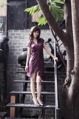 Áo Đầm Cao Cấp, Váy Đầm Kim Sa Hàng Hiệu Giá Sốc 385k