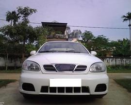 Bán xe Daewoo Lanos SX 2003, màu trắng, biển 29S, tên tư nhân giá 138 tr