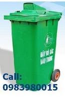 Tp. Hồ Chí Minh: Bán Thùng rác nhựa EDHP 2 , 3 bánh xe ,55L đến 660L CL1111995