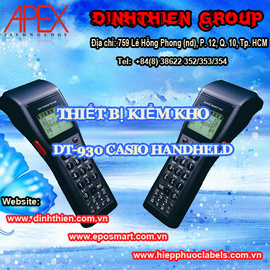 Thiết bị kiểm kho DT-930 Casio Handheld