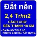 Đồng Nai: Dat nen gia re, 2,4 Tr/ m2, cach Cho Ben Thanh 18km, da ra so tung lo CL1147566