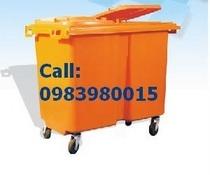 Bán Thùng rác nhựa HDPE, nhựa composit