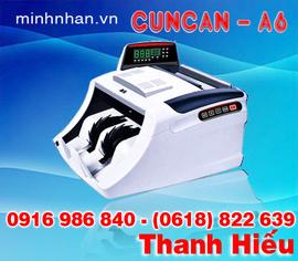 máy đếm tiền CunCan A6 kinh doanh giá tốt nhất