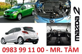 Bán xe Mazda chính hãng, tặng bảo hiểm và phụ kiện nâng cấp