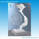 Tp. Hồ Chí Minh: Biểu trưng pha lê, thủy tinh, gỗ đồng CL1146663P8