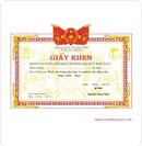 Tp. Hà Nội: Sản xuất phôi giấy khen, in nhanh giấy khen, bằng khen, hỗ trợ dịch vụ tốt CL1119019P5