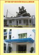 Tp. Hà Nội: Mái sảnh, mái hiên che nắng được hoàn thiện bằng Tấm nhôm nhựa Alu và Trần nhôm CL1127432P6