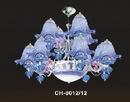 Bình Dương: đèn chùm cao cấp, đèn chùm pha lê nến, đèn chùm trang trí phòng khách, đèn chùm CL1126404P5