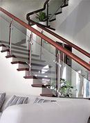 Tp. Cần Thơ: thi công cầu thang kính, cung cấp trụ cầu thang lan can kính, bản lề sàn vvp CL1120929