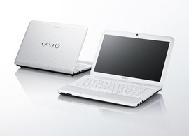 Laptop Sony Vaio EG36EG (Màu Đen, Trắng), Intel Core i3–2350M giá rẻ!