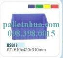 Tp. Hồ Chí Minh: Thùng nhựa đặc rỗng khay linh kiện, thùng nhựa công n CL1122798P9