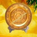 Tp. Hà Nội: Chuyên sản xuất quà tặng đĩa đồng đúc, đĩa trống đồng, biểu trưng gỗ đồng CL1123750P3