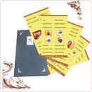 Tp. Hà Nội: Những tờ thực đơn menu in đẹp, lót ly, lót cốc, giấy ăn giá rẻ CL1121928