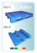 Tp. Hồ Chí Minh: Bán Pallet nhựa mới 100% - thanh lý Pallet nhựa PL04LK: 1200 x 1000 x 150mm CL1122245