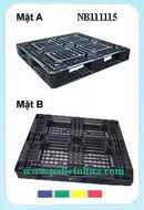 Tp. Hồ Chí Minh: Bán Pallet nhựa cũ , pallet secondhand KTPallet mặt liền khối D1100 x R1100 x C CL1122245