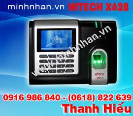 máy chấm công vân tay Hitech X628 quét vân tay cực nhạy
