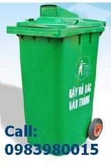 Bán Thùng rác nhựa HDPE, nhựa composit Thùng rác công viên