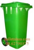 Tp. Hồ Chí Minh: Bán Thùng rác Pallet nhựa ,nhựa MGB240 Thùng rác văn phòng CL1122282