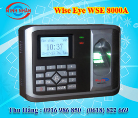 máy chấm công kiểm soát cửa wise eye 8000A. quà tặng hấp dẫn nhất+giảm giá bán