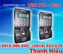 Bến Tre: máy chấm công Wise Eye WSE-850A, phần mềm chuyên nghiệp CL1129494P11