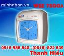 Tp. Hồ Chí Minh: máy chấm công thẻ giấy Wise Eye 7500a Chính hãng CL1129494P11