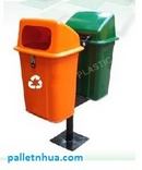 Tp. Hồ Chí Minh: Bán Thùng rác Pallet nhựa , thùng rác treo CL1109929