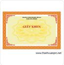 Tp. Hà Nội: giấy khen, phôi giấy khen, bằng khen, phôi chứng chỉ, phôi chứng nhận ( hợp pháp CL1109929