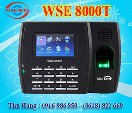 máy chấm công vân tay wise eye 8000T. giá rẻ+khuyến mãi. lh:0916986850