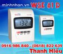 Bắc Ninh: máy chấm công bấm thẻ giấy Wise Eye WSE 61D CL1124870