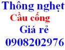 Tp. Hồ Chí Minh: thông nghẹt cầu 0908 202 976 CL1138614