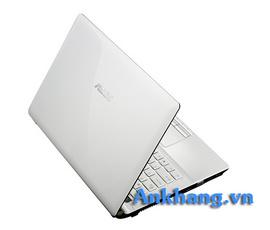 Laptop Asus K43E-VX820 (Màu Trắng) Core i5–2450M, Ram 2GB, HDD 500GB giá rẻ!
