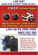 Tp. Hà Nội: Khoá chíp chống trộm cắp xe máy thông minh và hiện đại nhất hiện nay! CL1301217
