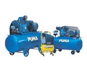 máy nén khí Puma lưu lượng 105L/ p, 185L/ p,300l/ p, 465l/ p, 751l/ p, 1118l/ p, 1588l