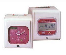 máy chấm công thẻ giấy Mindman M960. dễ dàng sử dụng