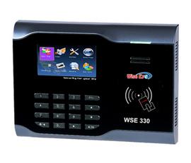 máy chấm công Wise eye WSE 330 tổng số giờ tăg ca