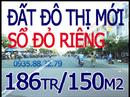Tp. Hồ Chí Minh: Bán đất mỹ phước 3 bình dương 186tr/ 150m2 sổ đỏ chính chủ, MT 16m, dân cư đông. CL1126940